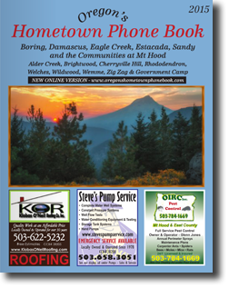 Online Oregon's Hometown Phone Book